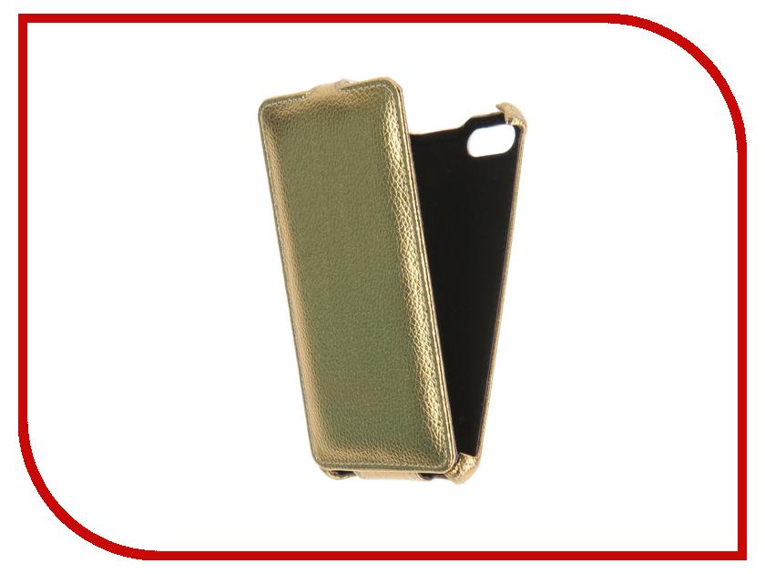 Аксессуар Чехол BQ BQS-5020 Gecko Gold GG-F-BQ5020-GOLD