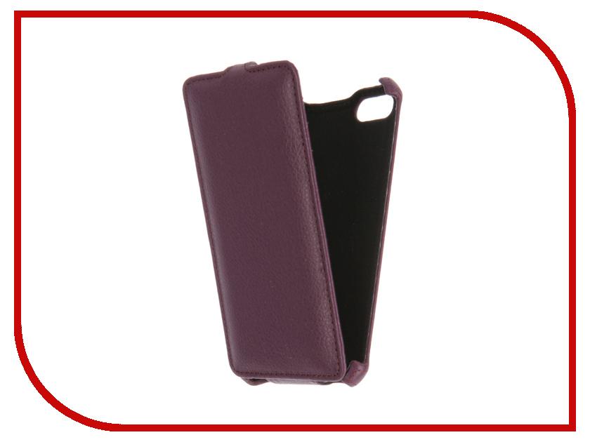 Аксессуар Чехол BQ BQS-5020 Gecko Violet GG-F-BQ5020-VIO
