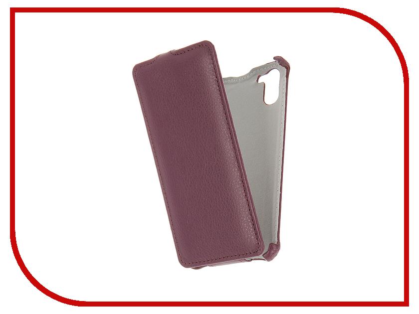 Аксессуар Чехол Ginzzu S5140 Gecko Violet GG-F-GINS5140-VIO