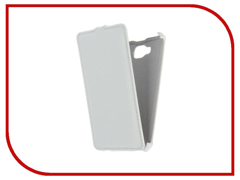 Аксессуар Чехол Ginzzu ST6040 Gecko White GG-F-GINST6040-WH
