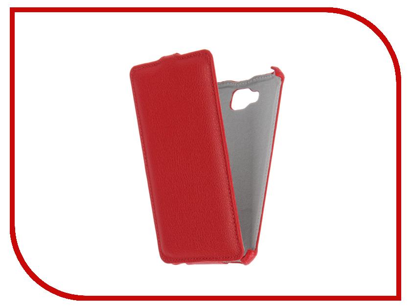 Аксессуар Чехол Ginzzu ST6040 Gecko Red GG-F-GINST6040-RED