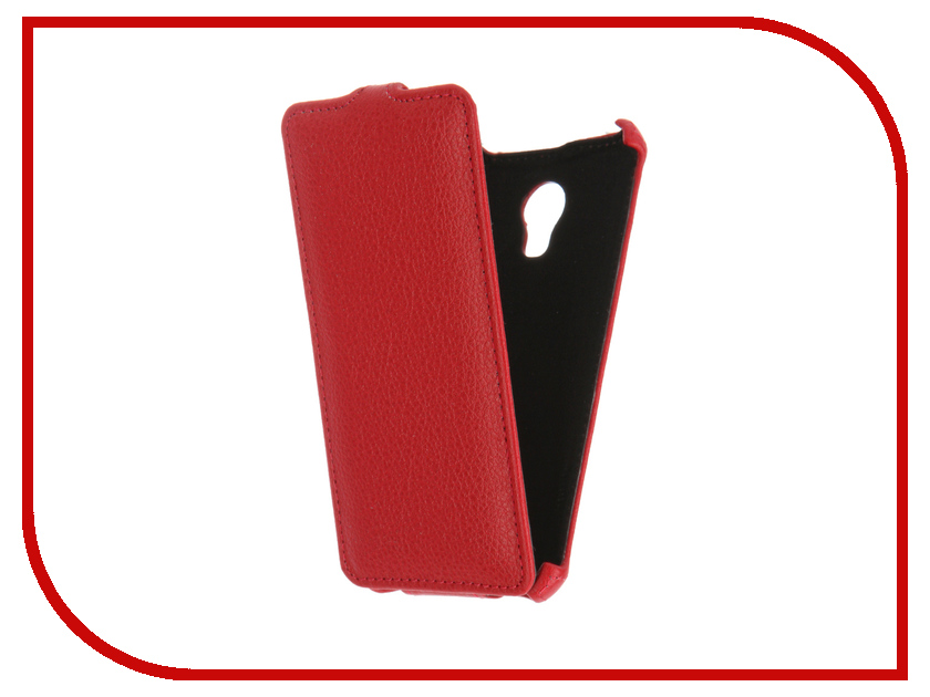 Аксессуар Чехол Meizu M3s Mini Gecko Red GG-F-MEIM3SMINI-RED<br>