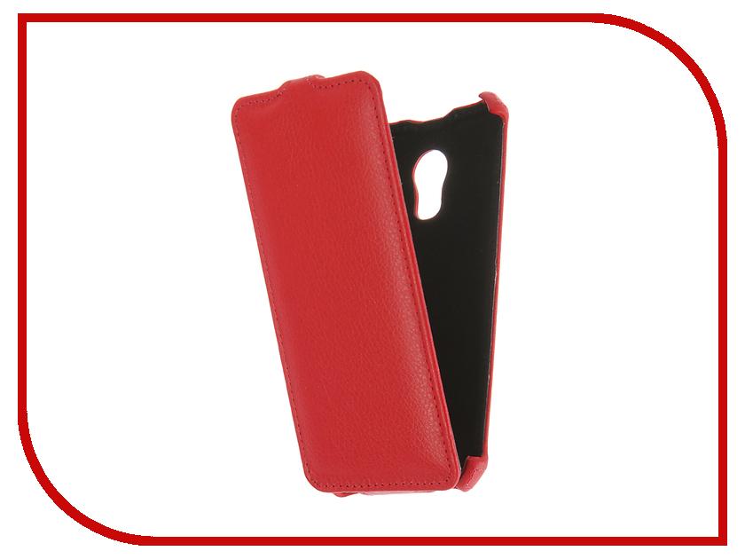 Аксессуар Чехол Meizu Pro 6 Gecko Red GG-F-MEIPRO6-RED аксессуар чехол meizu m2 mini gecko black gg f meim2mini bl