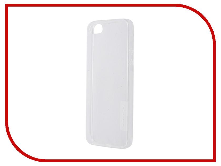 Аксессуар Чехол-накладка Nillkin Nature TPU Case для iPhone 5S/SE Transparent White<br>