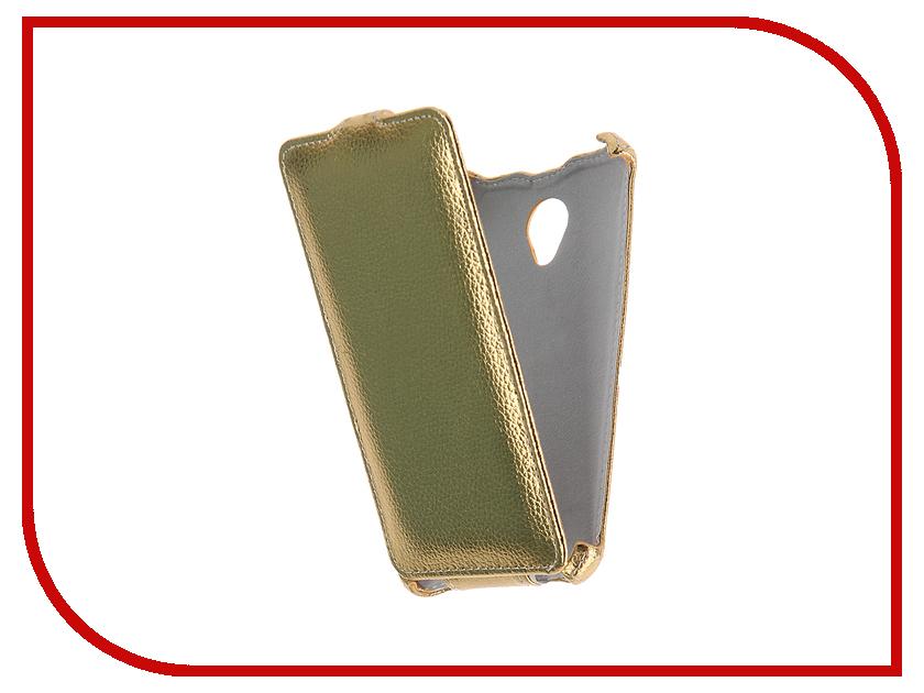 Аксессуар Чехол Philips V377 Gecko Gold GG-F-PHV377-GOLD