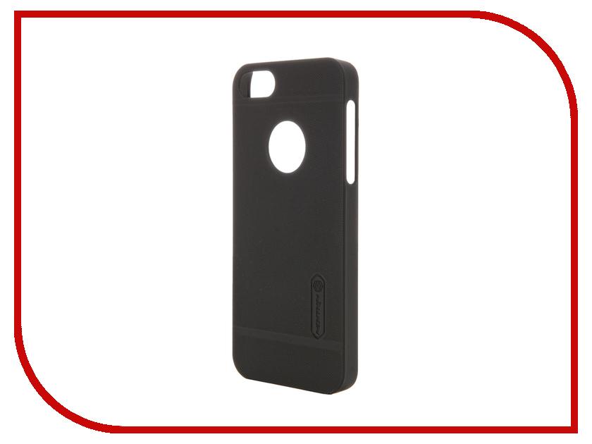 Аксессуар Чехол-накладка Nillkin Frosted Shield для iPhone 5S/SE Black<br>