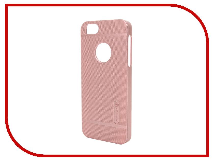Аксессуар Чехол-накладка Nillkin Frosted Shield для iPhone 5S/SE Pink