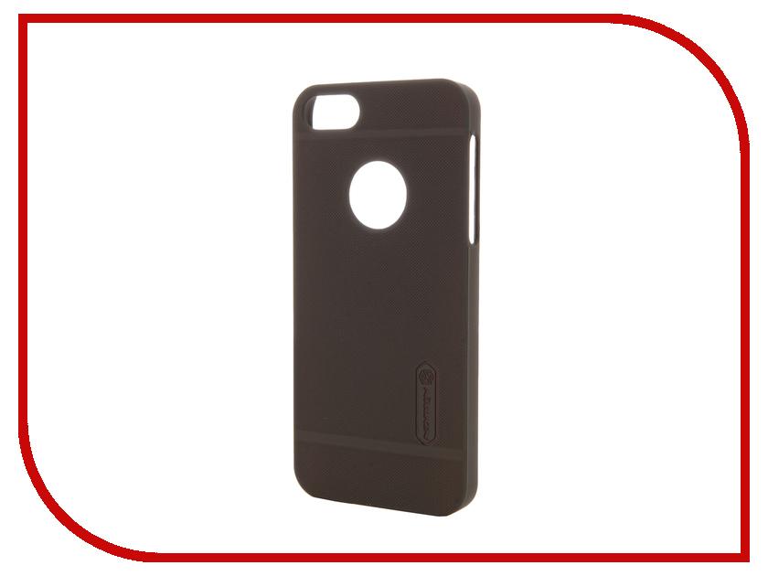 Аксессуар Чехол-накладка Nillkin Frosted Shield для iPhone 5S/SE Brown