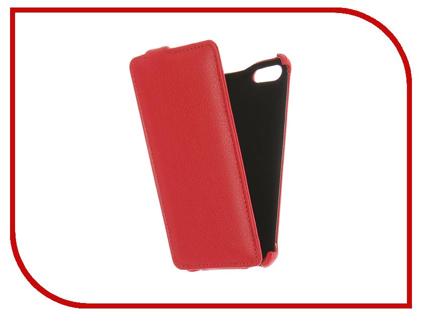Аксессуар Чехол Prestigio Muze A7 Gecko Red GG-F-PRESA7-RED