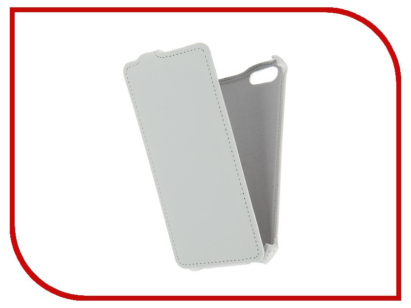 Аксессуар Чехол Prestigio Wize E3 Gecko White GG-F-PRESE3-WH