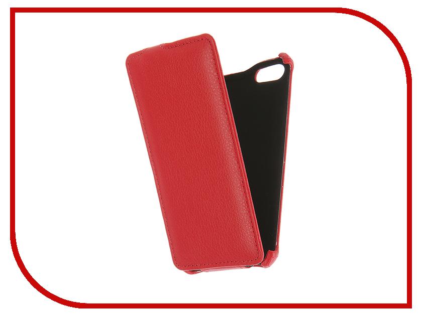 Аксессуар Чехол Prestigio Wize E3 Gecko Red GG-F-PRESE3-RED