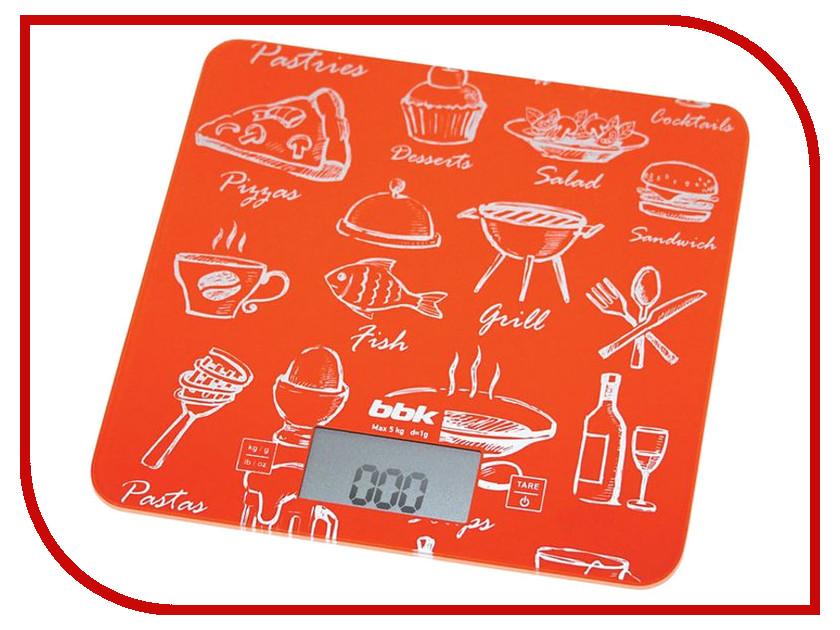 Весы BBK KS108G Orange<br>