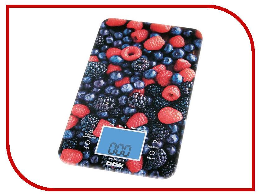 Весы BBK KS107G Black-Red
