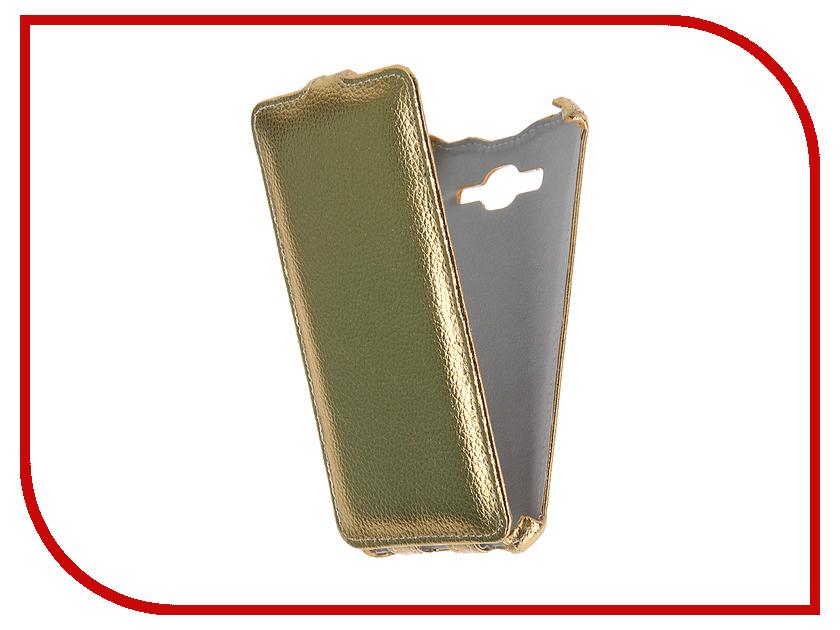 Аксессуар Чехол Samsung SM-G530 Galaxy Grand Prime Gecko Gold GG-F-SGGRPRI-GOLD<br>