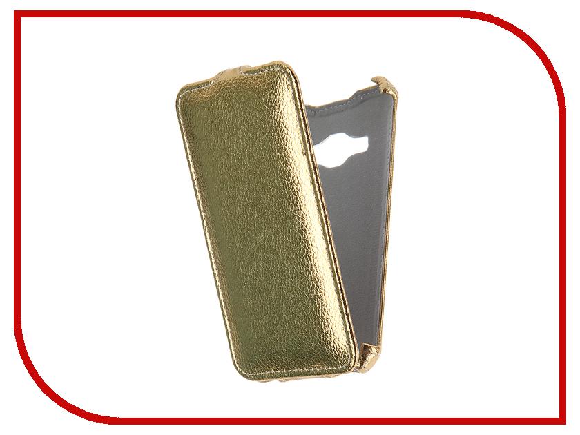 Аксессуар Чехол Samsung Galaxy J1 J120F/DS 2016 Gecko Gold GG-F-SGJ1-2016-GOLD<br>