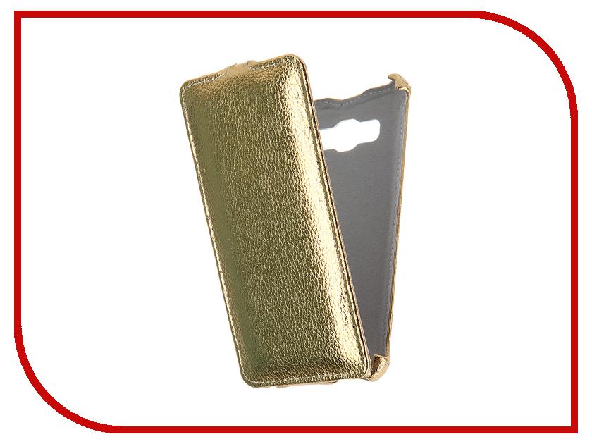 Аксессуар Чехол Samsung Galaxy J5 J510F 2016 Gecko Gold GG-F-SGJ5-2016-GOLD<br>