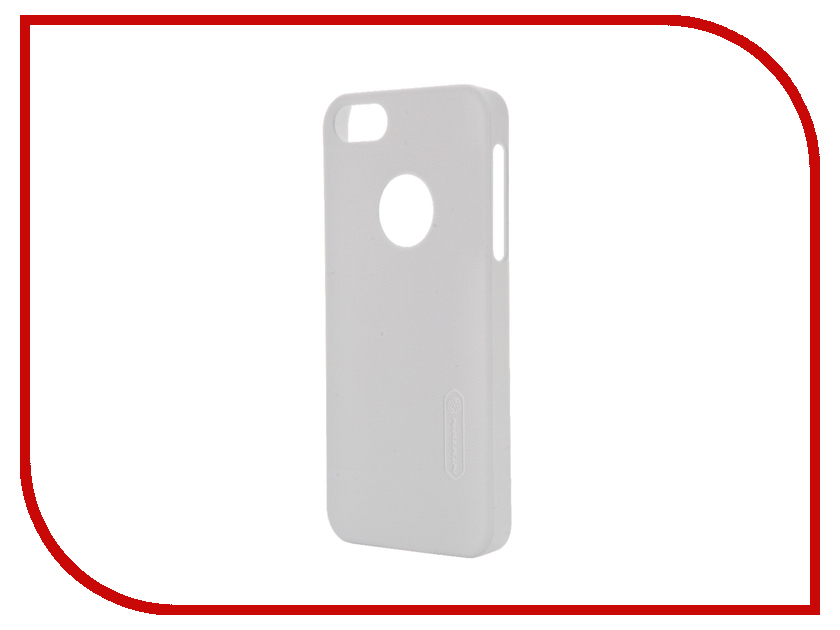 Аксессуар Чехол-накладка Nillkin Frosted Shield для iPhone 5S/SE White