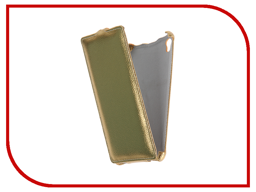 Аксессуар Чехол-флип Sony Xperia XA Ultra F3216 Gecko Gold GG-F-SONXAU-GOLD<br>