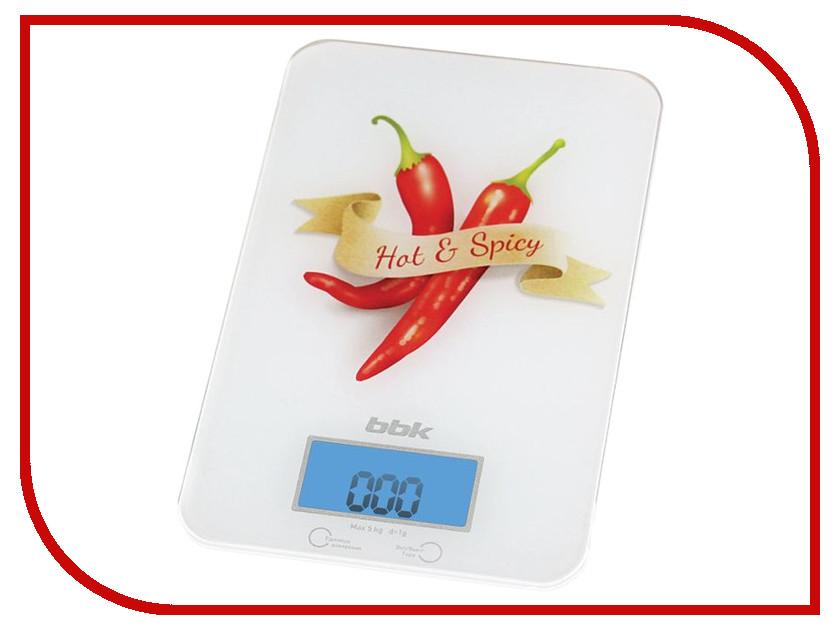 Весы BBK KS106G White-Red<br>