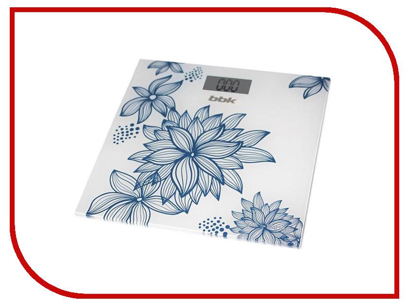 Весы BBK BCS3000G White-Blue