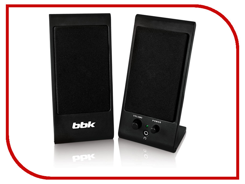 Колонки BBK CA-191S Black<br>