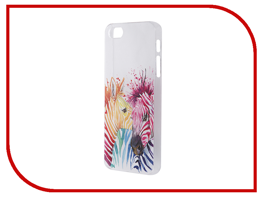 Аксессуар Чехол iPapai для iPhone 5 / 5S Животные Зебры<br>