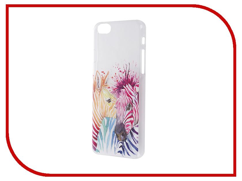Аксессуар Чехол iPapai для iPhone 6 / 6S Животные Зебры<br>
