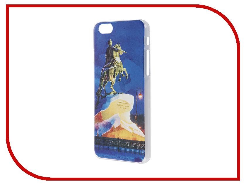 Аксессуар Чехол iPapai для iPhone 6 / 6S Петербург Акварель Медный всадник<br>