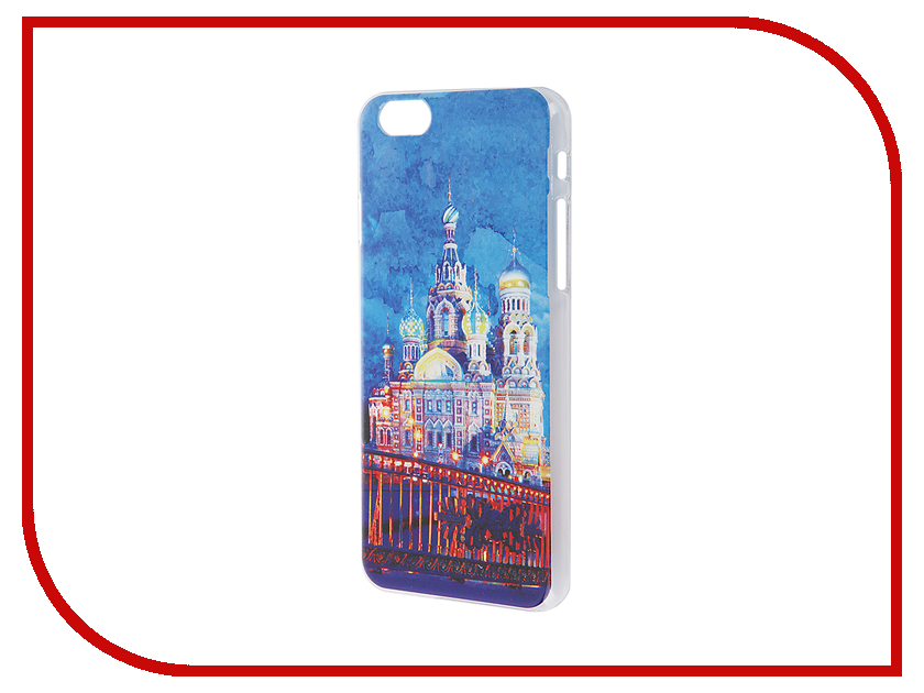 Аксессуар Чехол iPapai для iPhone 6 / 6S Петербург Акварель Спас на крови<br>