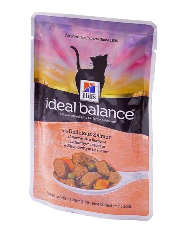 Корм Hills Ideal Balance Аппетитный лосось 85g для кошек 10025