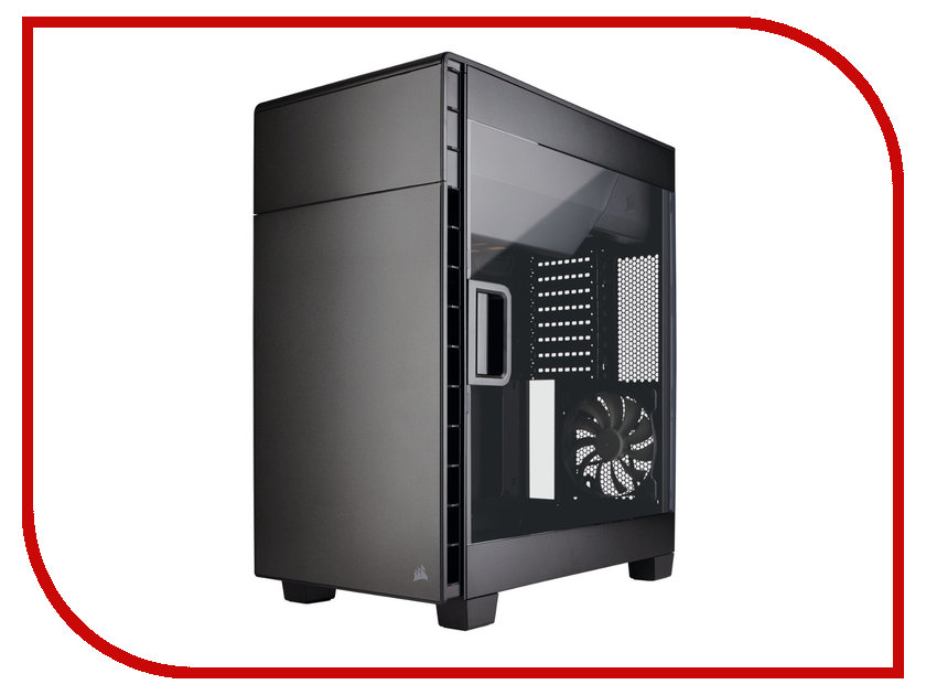Корпус Corsair Carbide Series Clear 600C Black CC-9011079-WW корпус corsair obsidian series 350d window cc 9011029 ww