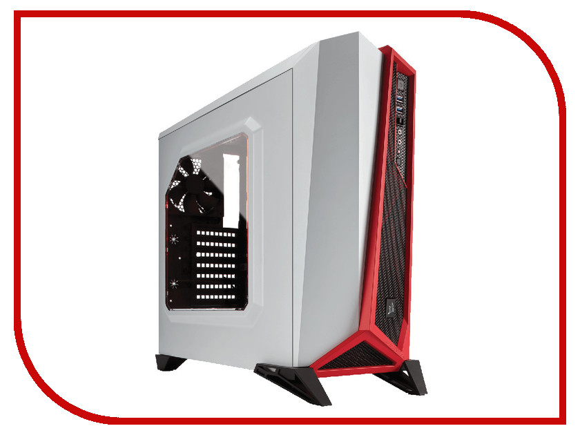 Корпус Corsair Carbide Series SPEC-ALPHA White/Red CC-9011083-WW aspire switch alpha 12