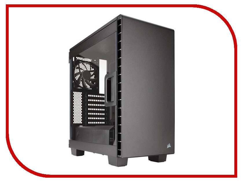 Корпус Corsair Carbide Series Clear 400C Black CC-9011081-WW корпус corsair obsidian series 350d window cc 9011029 ww