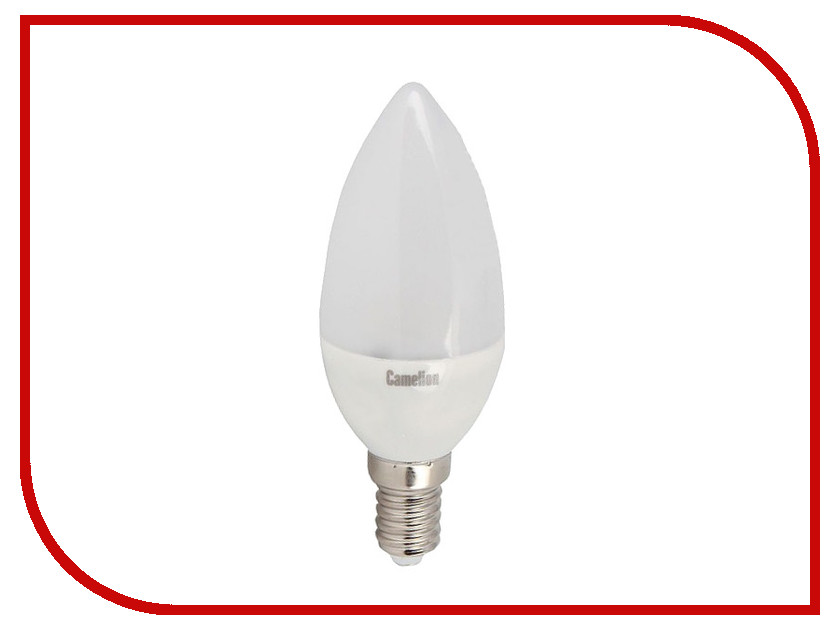 Лампочка Camelion C35 8W 220V E14 3000K 720 Lm LED8-C35/830/E14<br>