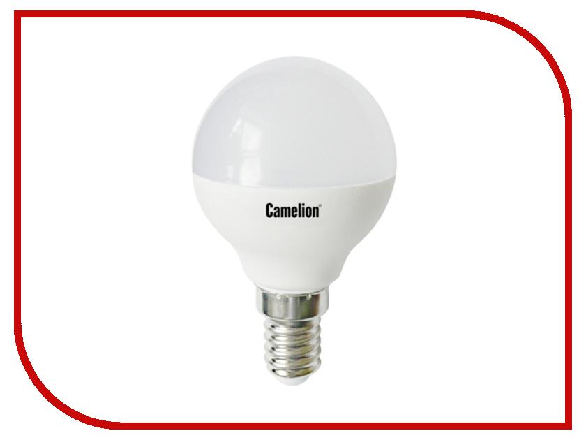Лампочка Camelion G45 8W 220V E14 3000K 720 Lm LED8-G45/830/E14 лампочка camelion 6w 220v led6 r50 830 e14