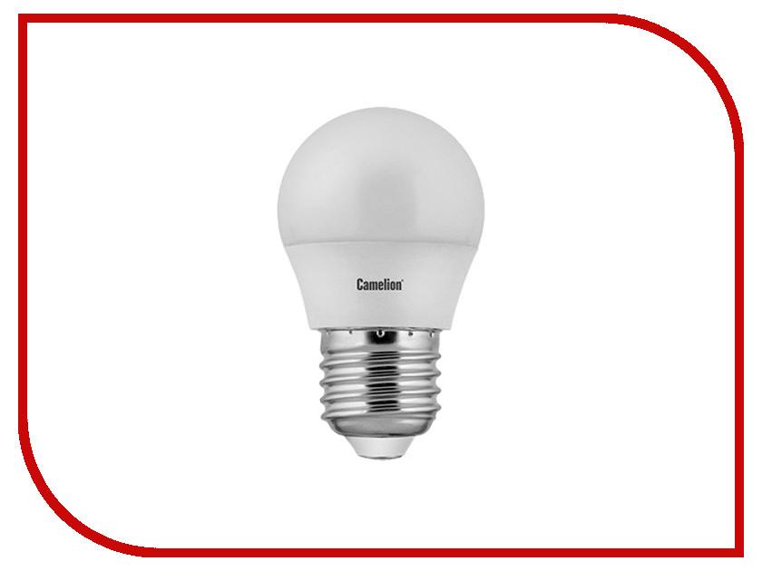 Лампочка Camelion E27 G45 8W 220V 3000K 720 Lm LED8-G45/830/E27 лампочка camelion c35 7w 220v e27 3000k 530 lm led7 c35 830 e27