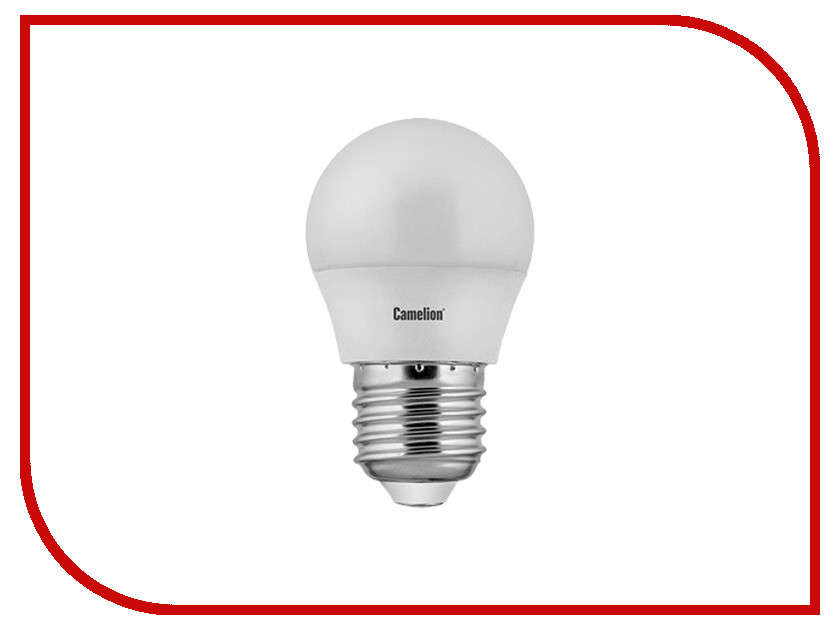 Лампочка Camelion E27 G45 8W 220V 3000K 720 Lm LED8-G45/830/E27 светильник camelion wl 2001 8w