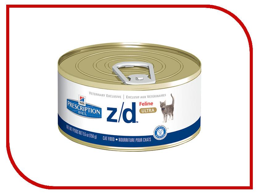 корм-hills-prescription-diet-zd-лечение-острых-пищевых-аллергий-156g-для-кошек-5661