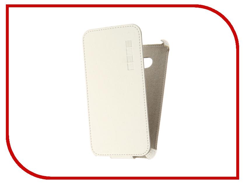 Аксессуар Чехол Microsoft Lumia 640 InterStep Crab White HCB-MIL0640K-NP1103O-K100