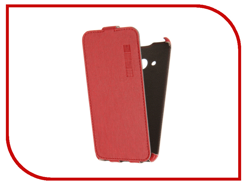 Аксессуар Чехол Microsoft Lumia 550 InterStep Crab Red HCB-MIL0550K-NP1104O-K100