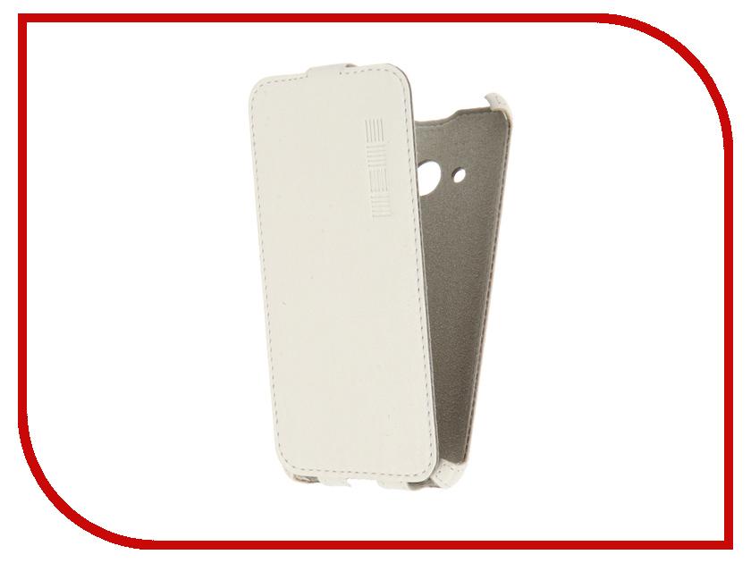 Аксессуар Чехол Microsoft Lumia 550 InterStep Crab White HCB-MIL0550K-NP1103O-K100