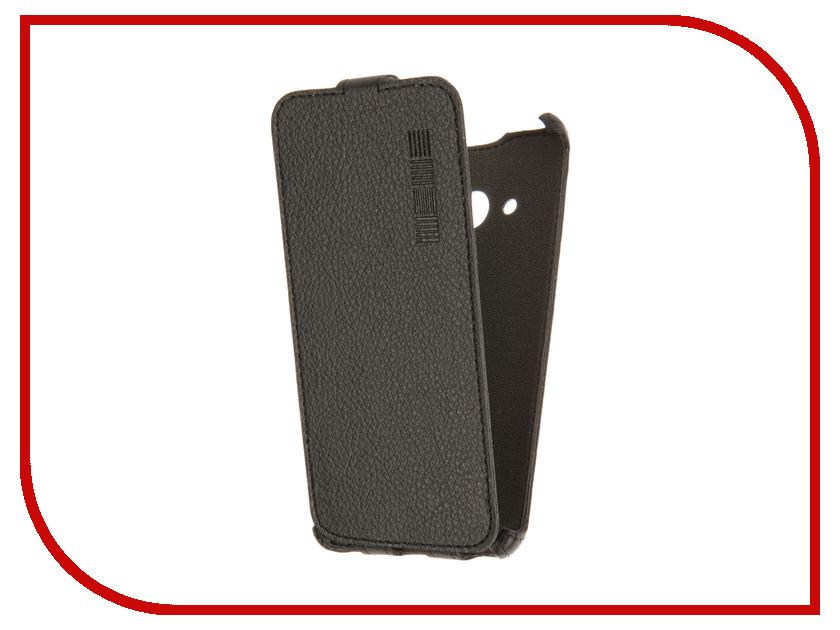 Аксессуар Чехол Microsoft Lumia 550 InterStep Crab Black HCB-MIL0550K-NP1101O-K100 44131<br>