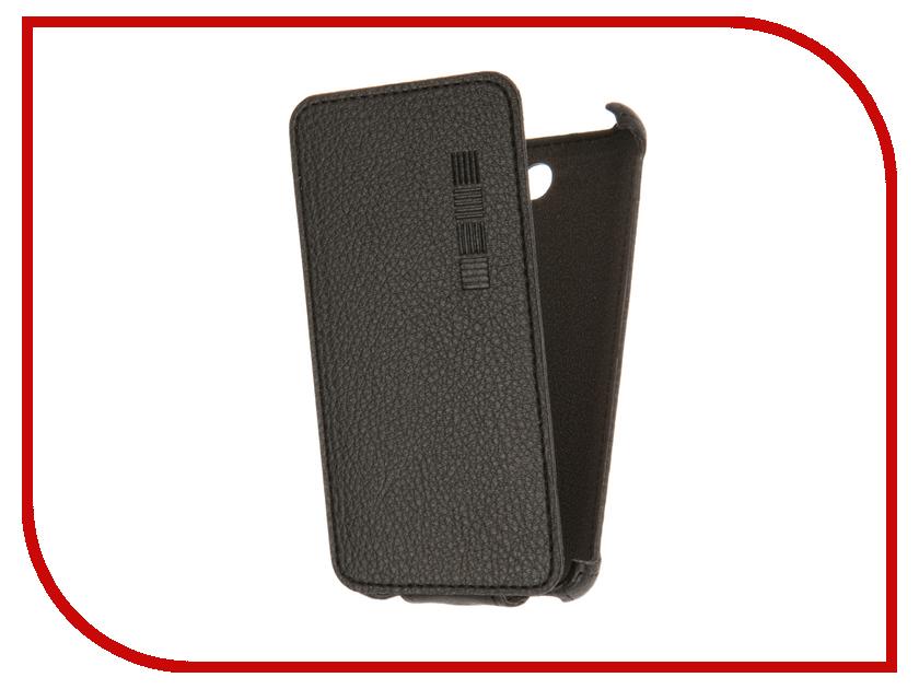 Аксессуар Чехол Microsoft Lumia 430 InterStep Crab Black HCB-MIL0430K-NP1101O-K100