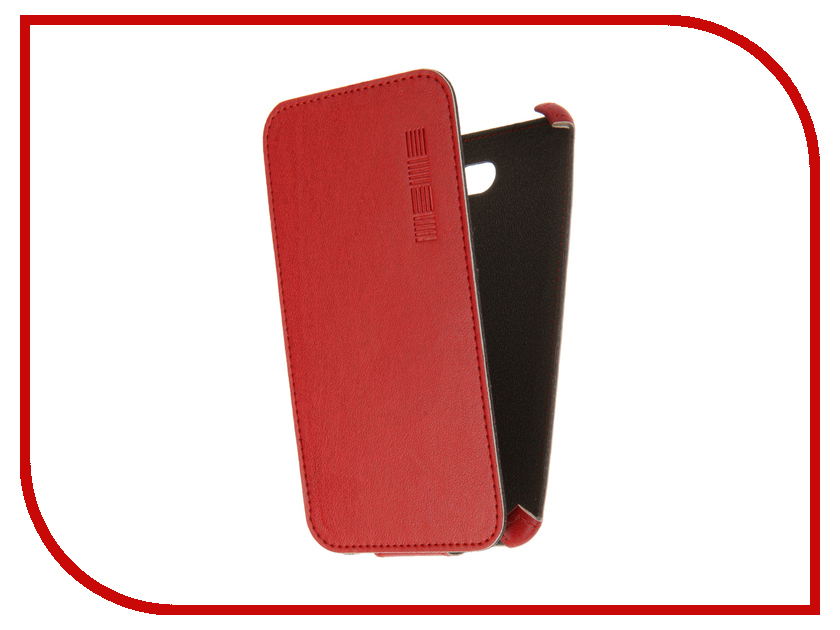 Аксессуар Чехол Sony Xperia E4 InterStep Crab Red HCB-SOXPEE4K-NP1104O-K100
