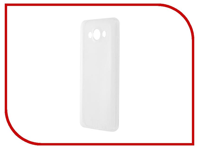 все цены на  Аксессуар Чехол-накладка Samsung Galaxy J7 2016 SM-J710 Krutoff Transparent 11773  онлайн
