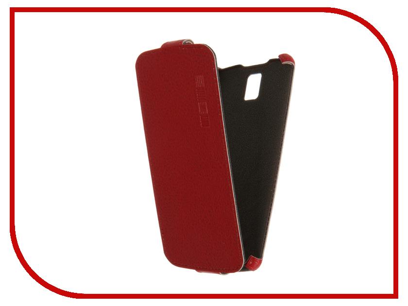 Аксессуар Чехол ZTE Blade L5 / L5 Plus InterStep Crab Red HCB-ZTB0L5PK-NP1104O-K100<br>