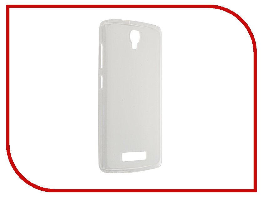 Аксессуар Чехол ZTE Blade L5 / L5 Plus InterStep IS Slender TPU Transparent HSD-ZTB0L5PK-NP1101O-K100 46497