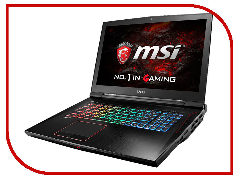 Ноутбук MSI GT73VR 6RE-047RU 9S7-17A111-047 (Intel Core i7-6820HK 2.7 GHz/16384Mb/1000Gb + 128Gb SSD/nVidia GeForce 1070 8192Mb/Wi-Fi/Cam/17.3/1920x1080/Windows 10 64-bit)<br>