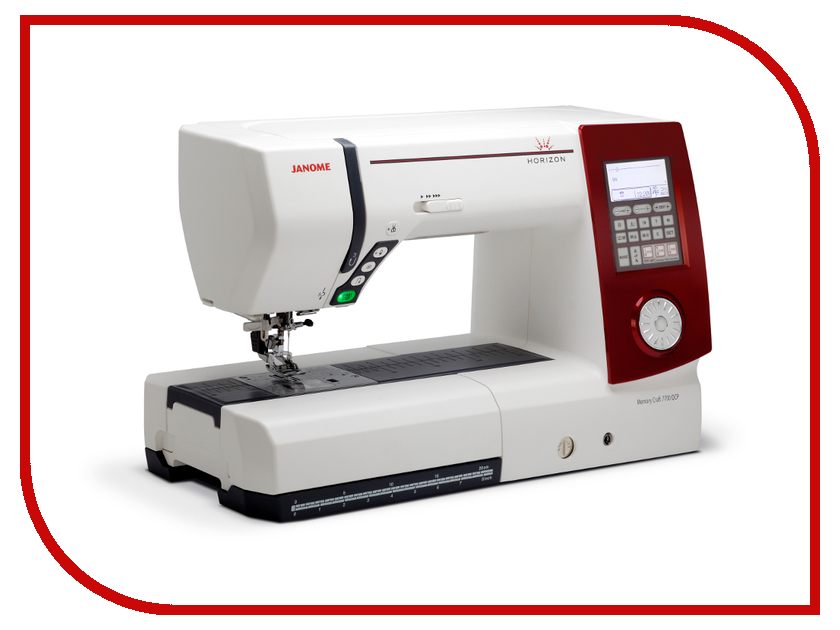 Швейная машинка Janome Memory Craft 7700 QCP Horizon  janome horizon memory craft 8200 qc