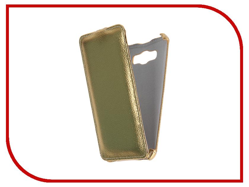 Аксессуар Чехол Samsung Galaxy J7 2016 Zibelino Classico Gold ZCL-SAM-J7-2016-GLD<br>